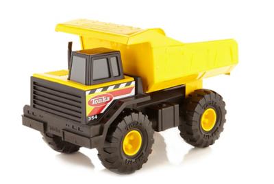 Tonka Construction Toys For Boys : Tonka classic steel mighty dump truck toys character george