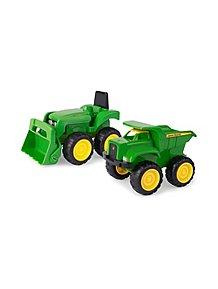 John Deere Mini Sand Pit Tractor And Dump Truck