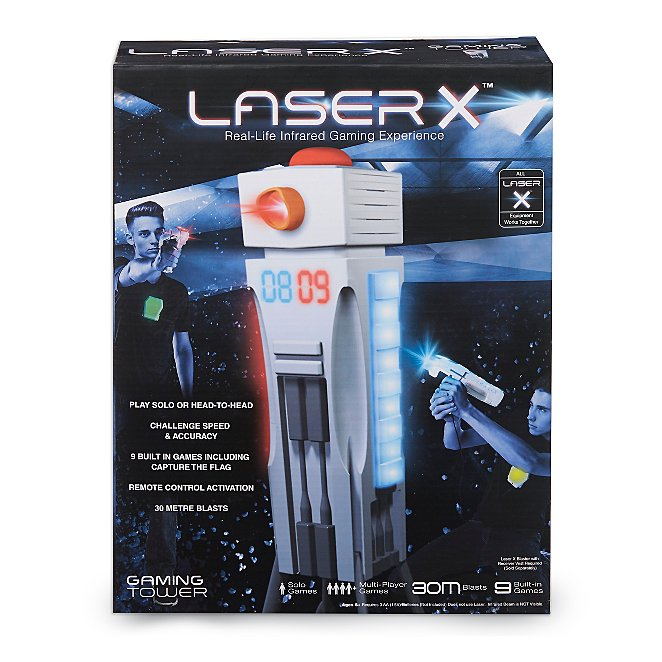 laser x gaming tower toys character george