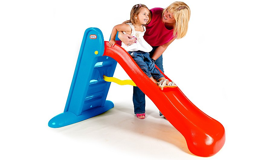 Little Tikes Orange Slides : Little tikes large slide red and blue toys character