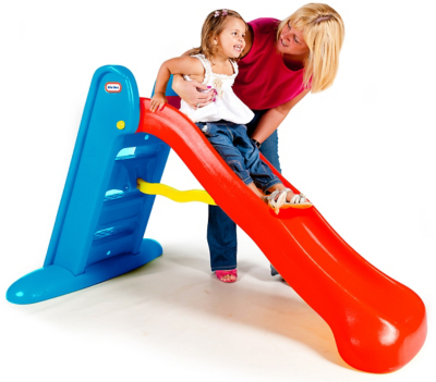 Little Tikes Large Slide - Red and Blue  sc 1 st  George & Swings u0026 Slides - Kids Swing Set - Kids Slide | Toys u0026 Character ...