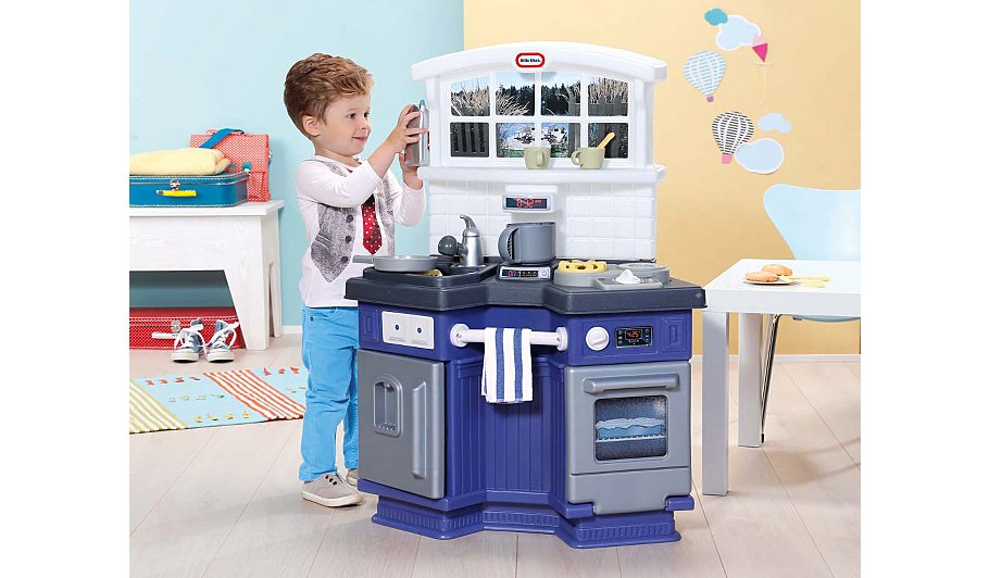 Little Tikes Side By Side Kitchen   Kids   George at ASDA