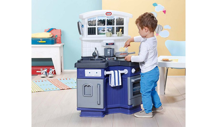 100 Fake Kitchen Pro Chef Kitchen Set Super Cool Baby Super.Little ...