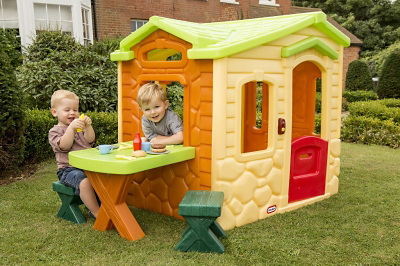 High Quality Little Tikes Picnic On The Patio Playhouse   Natural | Kids | George At ASDA