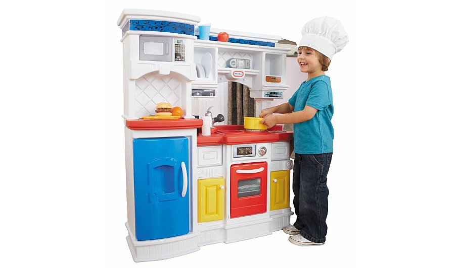 Little tikes gourmet prep 39 n serve kitchen kids george for Small kids kitchen