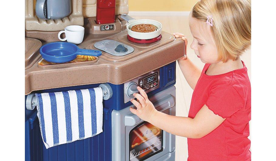little tikes super chef kitchen kids george at asda. Black Bedroom Furniture Sets. Home Design Ideas