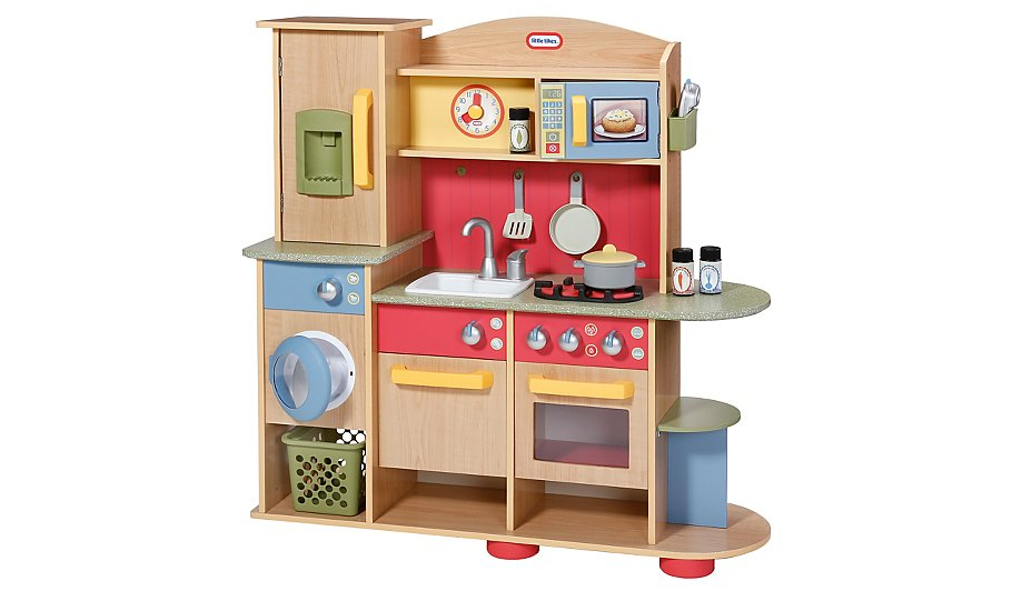 Little Tikes Cookin Creations Premium Wooden Kitchen Toys Character George