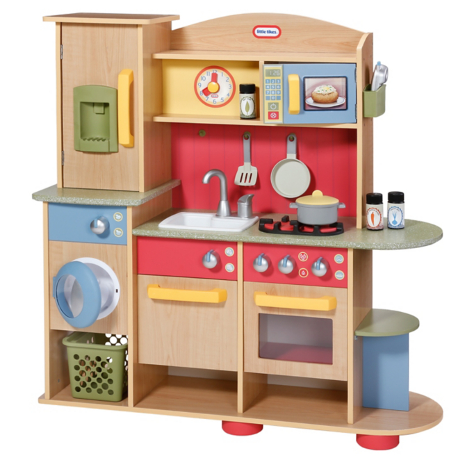 Little Tikes Cookin Creations Premium Wooden Kitchen Toys