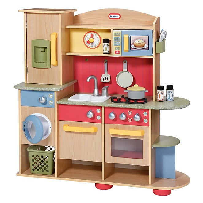 Little Tikes Cookin Creations Premium Wooden Kitchen