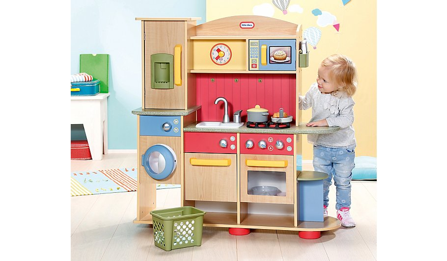 Little Tikes Cookin Creations Premium Wooden Kitchen Hide Details