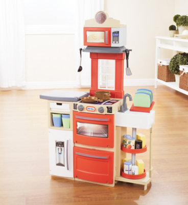 little tikes red cook n store kitchen toys character george rh direct asda com