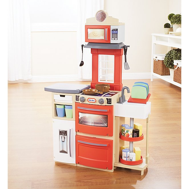 Little Tikes Red Cook  n Store Kitchen  04c04e64d7