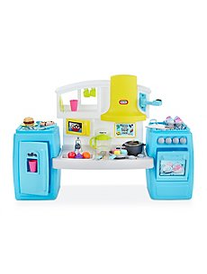 Little Tikes 2 In 1 Food Truck Kitchen Toys Character George At Asda