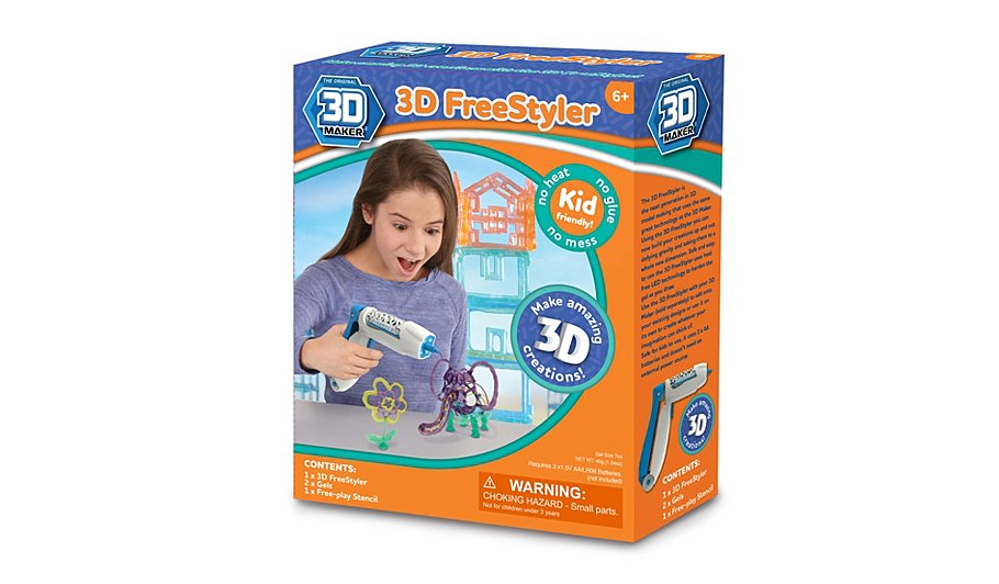 3d maker 3d freestyler kids george at asda for 3d house maker