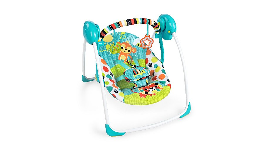 n felicity ingenuity baby starts floral ca soothe newborn bright portable delight swing amazon dp