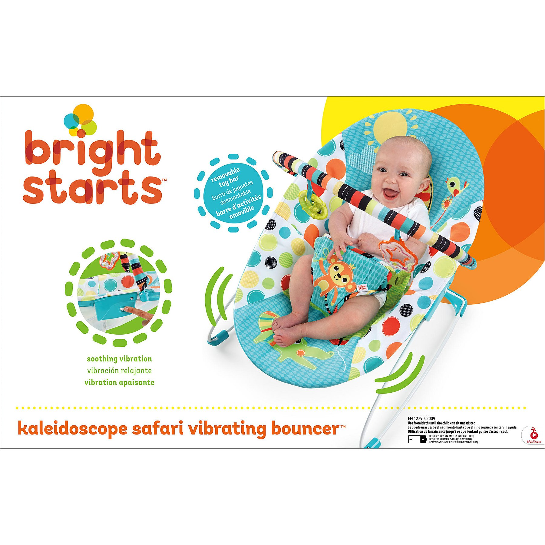 4ac65d013dc3 Bright Starts Kaleidoscope Bouncer