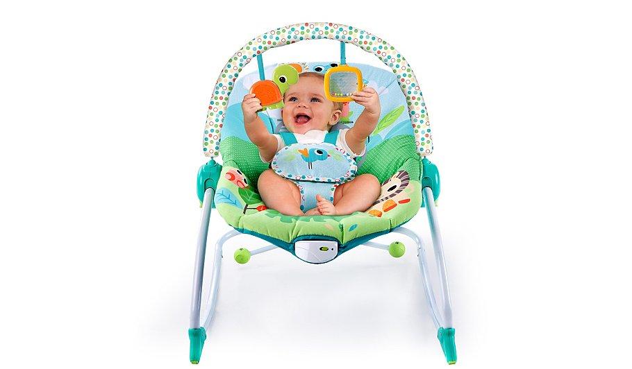 bright starts playful parade baby to big kid rocker baby george