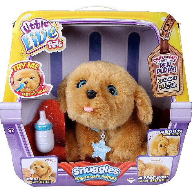 Little Live Pets Snuggle My Dream Puppy Toys Character George