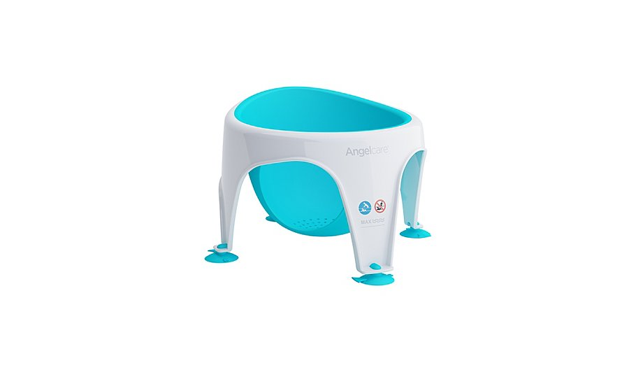 Angelcare Soft Touch Bath Seat - Aqua | Baby | George