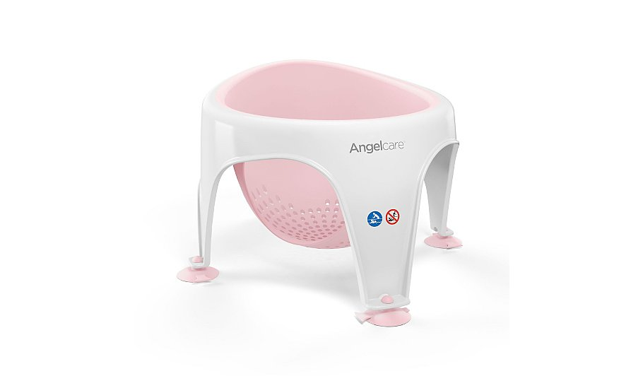 Angeclare Soft Touch Bath Seat - Pink | Baby | George