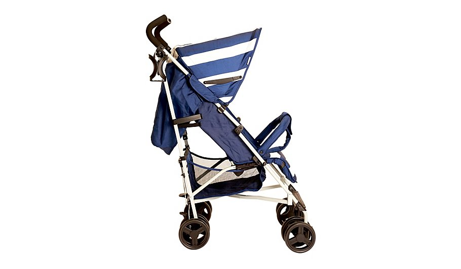 My Babiie Billie Faiers MB01 Blue Stripes Stroller | Baby