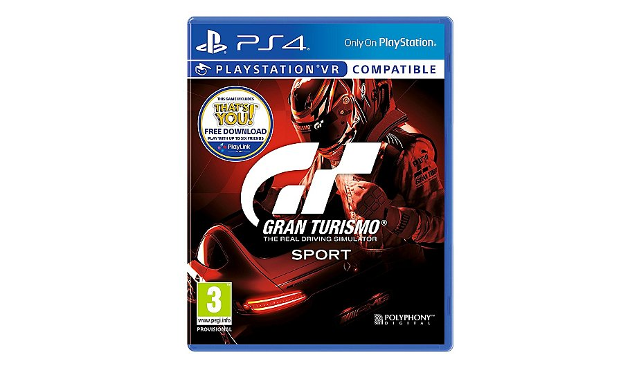 gran turismo sport ps4 home garden george. Black Bedroom Furniture Sets. Home Design Ideas
