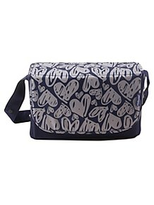 My Babiie Katie Piper Believe Navy Hearts Changing Bag