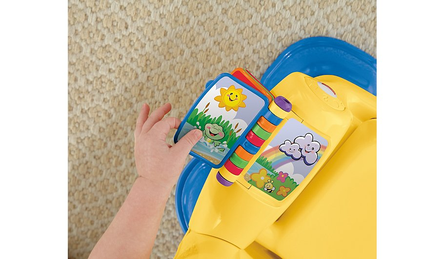 fisher price laugh and learn chair manual