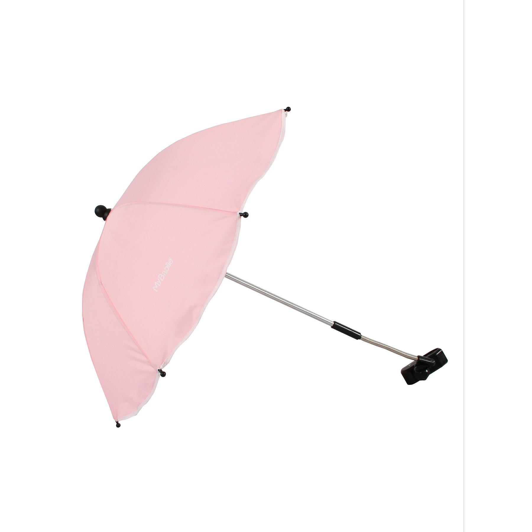 My Babiie Pink Pushchair Parasol
