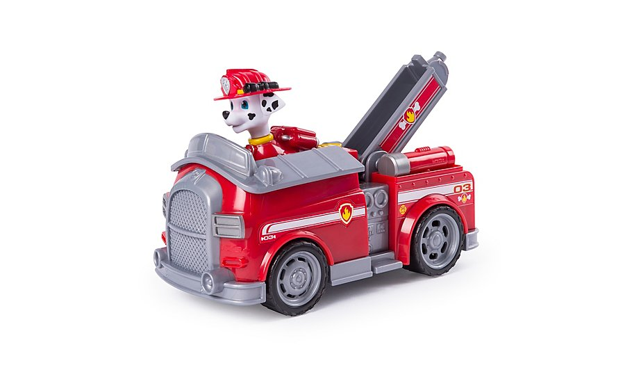 paw patrol marshall s transforming fire truck toys character