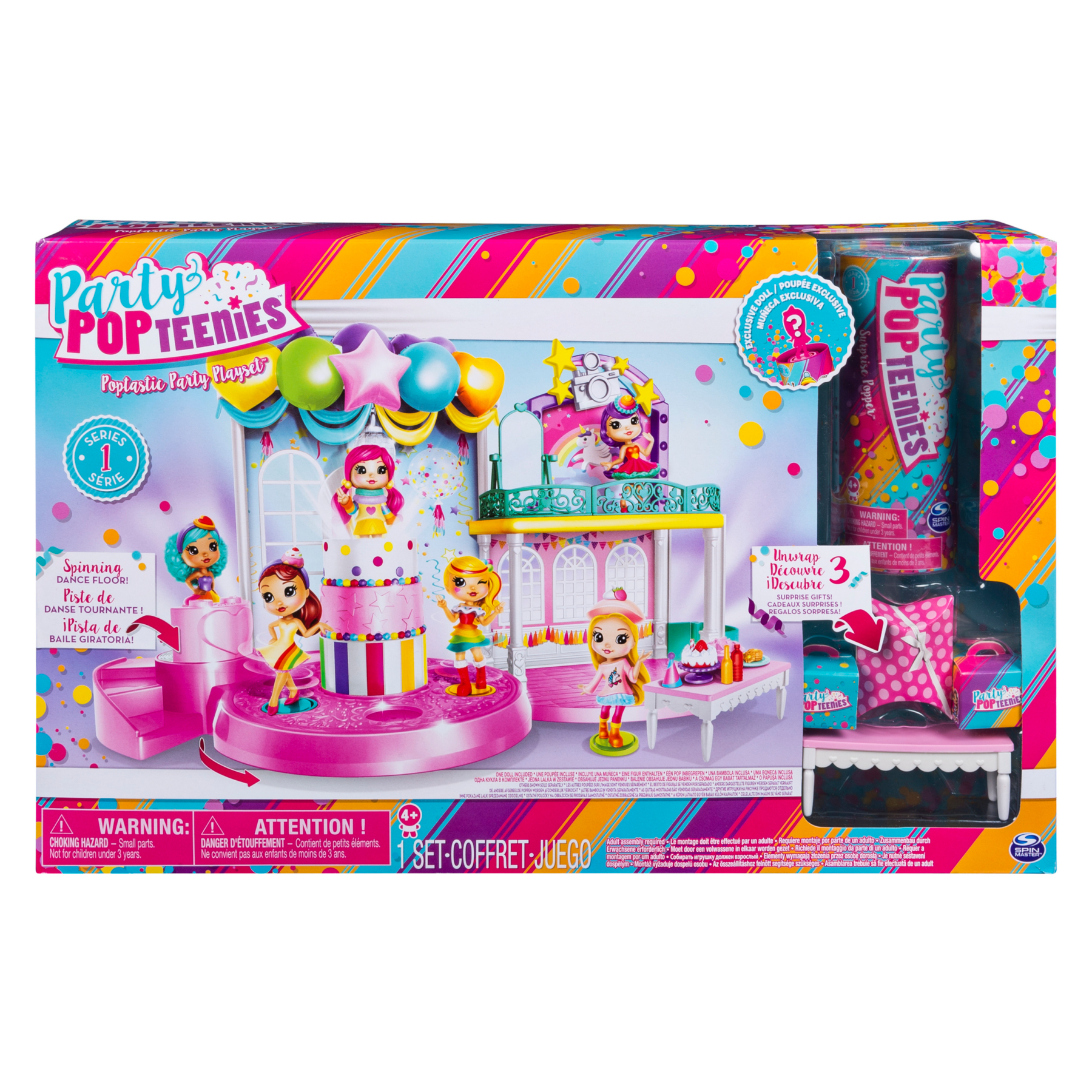 Party Popteenies Poptastic Party Playset with Confetti Exclusive