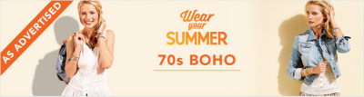 Wear your Summer - 70s BOHO