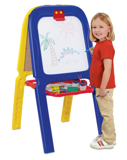 crayola 3 in 1 double easel with magnetic letters crayola 3 in 1 easel toys amp character george 21223