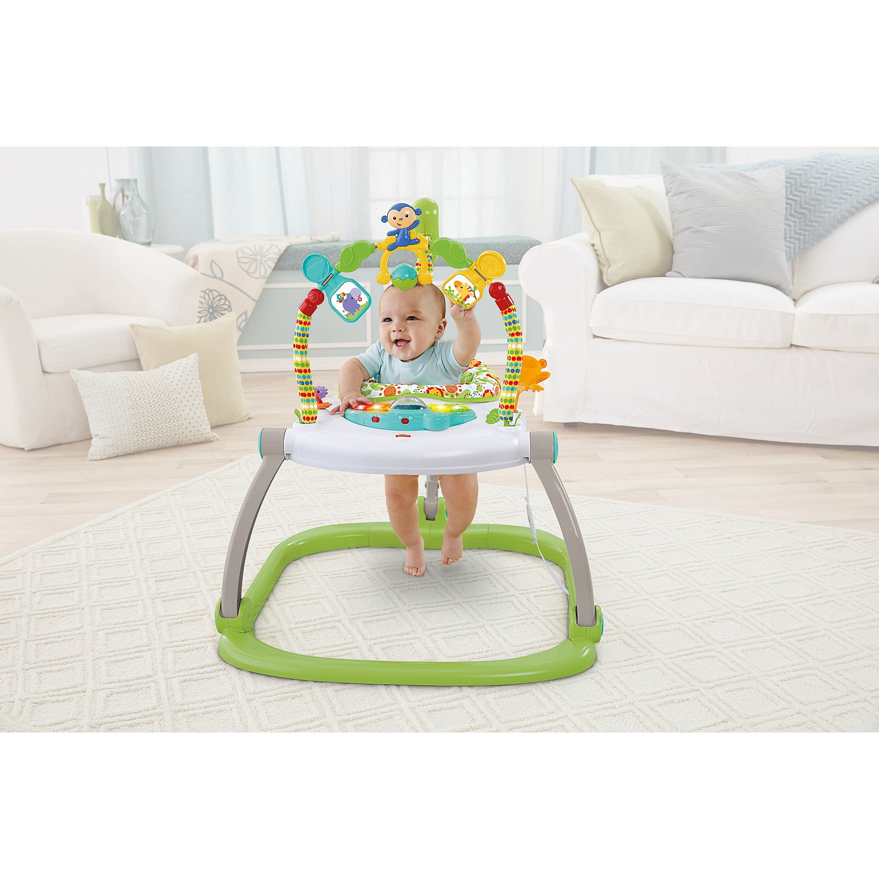 8929dff8c Fisher-Price Rainforest Friends SpaceSaver Jumperoo