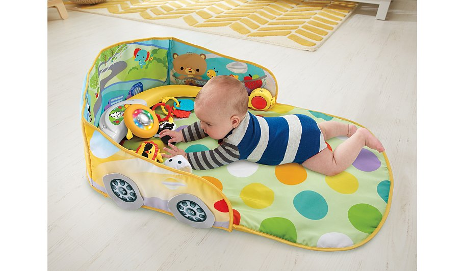 Fisher Price 3 In 1 Convertible Car Gym Kids George At Asda