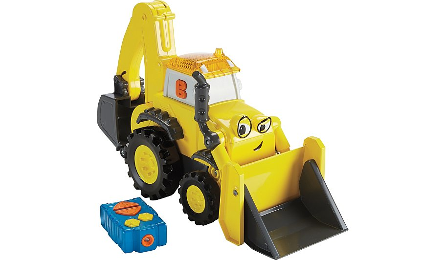 Bob the builder radio control super scoop kids george at asda sciox Images