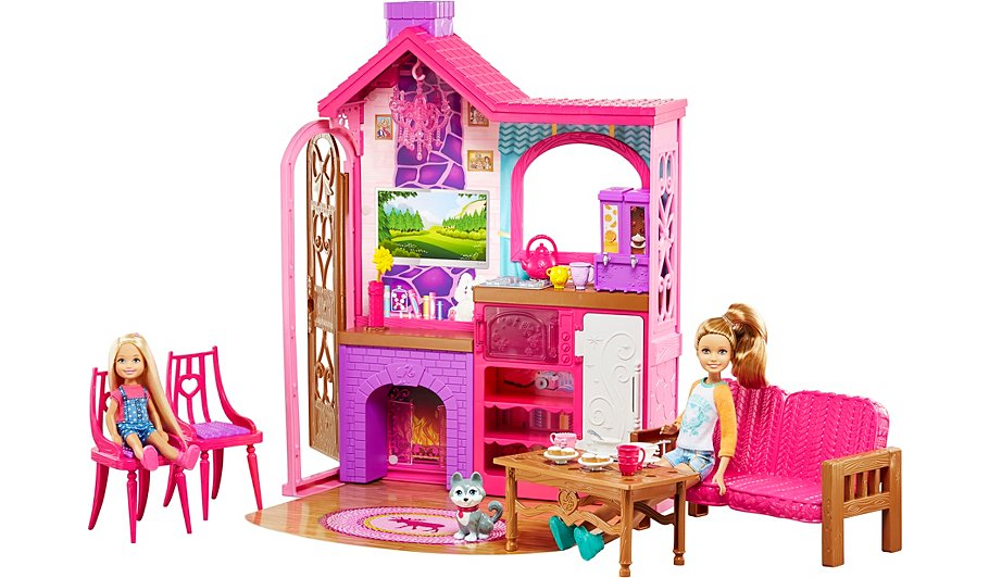 Barbie Camping Fun Playset