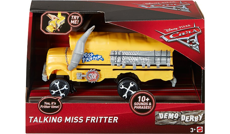 disney cars 3 miss fritter vehicle toys character. Black Bedroom Furniture Sets. Home Design Ideas