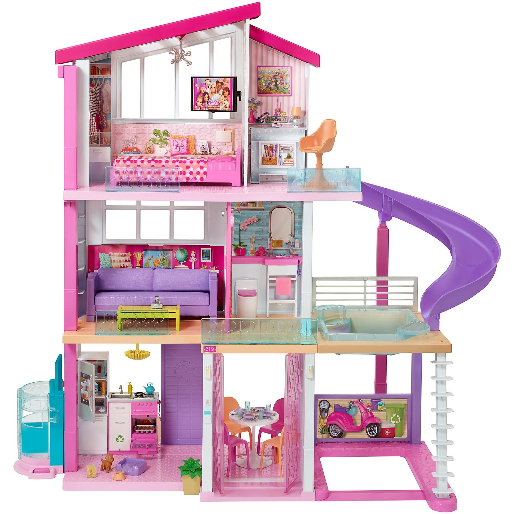 Bathroom//Bedroom//Garden//Kitchen// Furniture Play Set For Barbie Dollhouse Toy