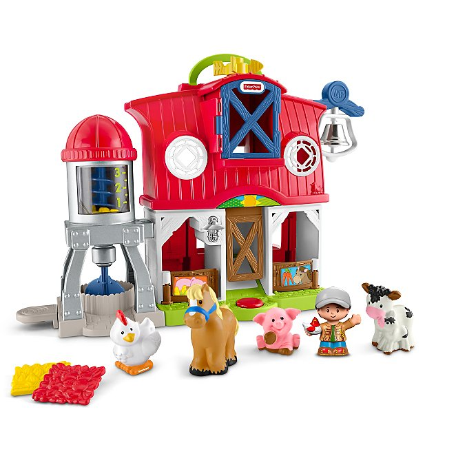 Little People Caring For Animals Farm Toys Character George At Asda
