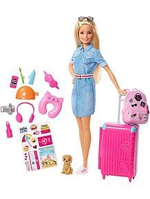 ebf8a38caf Barbie Travel Doll