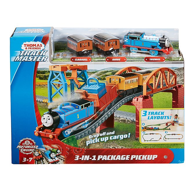 Fisher Price Thomas Friends 3 In 1 Package Pickup Toys Character George At Asda