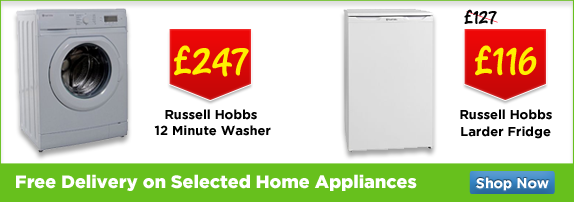 Free Delivery on Selected Home Appliances