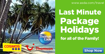 Last Minute Package Holidays for all for the Family!