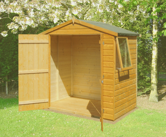 Garden Sheds 6 X 6 pinnacle shetland 6ft x 4ft 120m x 183m shiplap apex shed sticker