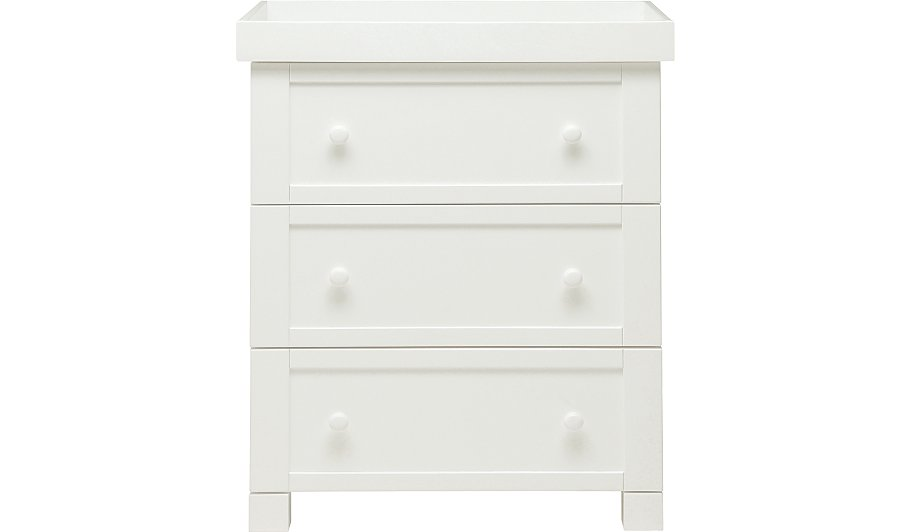 East Coast Montreal Dresser White Changing Units Drawers