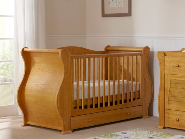 Tutti Bambini Marie Nursery Range - Old English Finish
