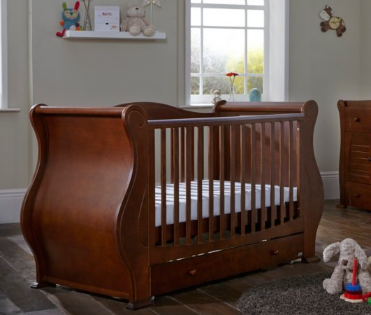 Tutti Bambini Marie Nursery Range - Walnut