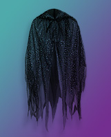 Floating George Halloween witch cape