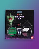 Evil witch makeup kit